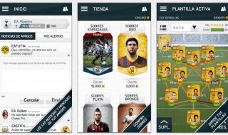 EA Sports Football Club se actualiza en iOS y Android para FIFA 14 y su Ultimate Team