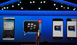 Blackberry Messenger llegará a iOS y Android en unos días