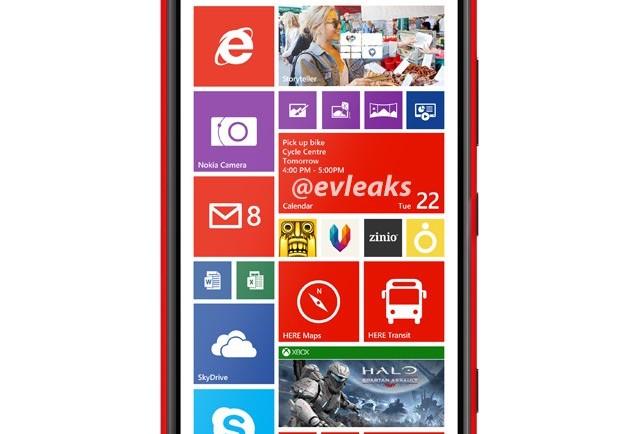 Lumia 1520 evleaks