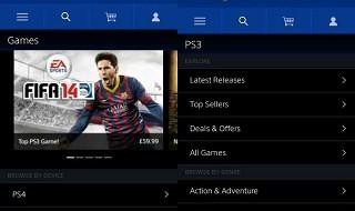 La Sony Entertainment Network Store ya está optimizada para iOS y Android