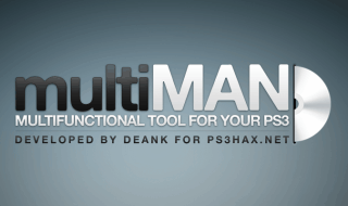 multiMAN 04.50.00 compatible con CFW 4.50 de PS3