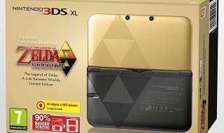 Las ediciones especiales de Nintendo 3DS XL inspiradas en Luigi y Zelda: A Link Between Worlds llegan a Europa