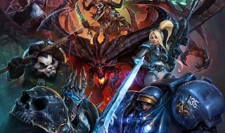 Primer artwork de Heroes of the Storm, el MOBA de Blizzard