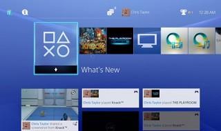 Un vistazo a la interfaz de PS4