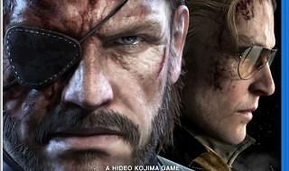 La portada de Metal Gear Solid V: Ground Zeroes