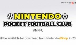 Anunciado Nintendo Pocket Football Club para 3DS