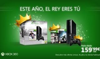 Packs de Xbox 360 rebajados a 160€ hasta el 7 de enero