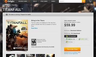 Parece que habrá beta de Titanfall para PC