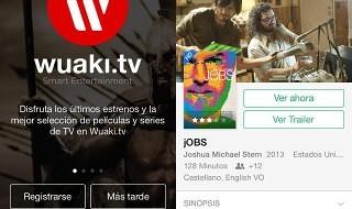 La aplicación de Wuaki.tv se rediseña completamente para iOS 7