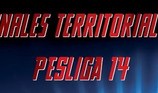 Las finales territoriales de la PESLIGA 14, del 22 de febrero al 5 de abril