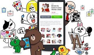 Line permitirá a terceros vender stickers y tendrá un servicio barato de llamadas voIP