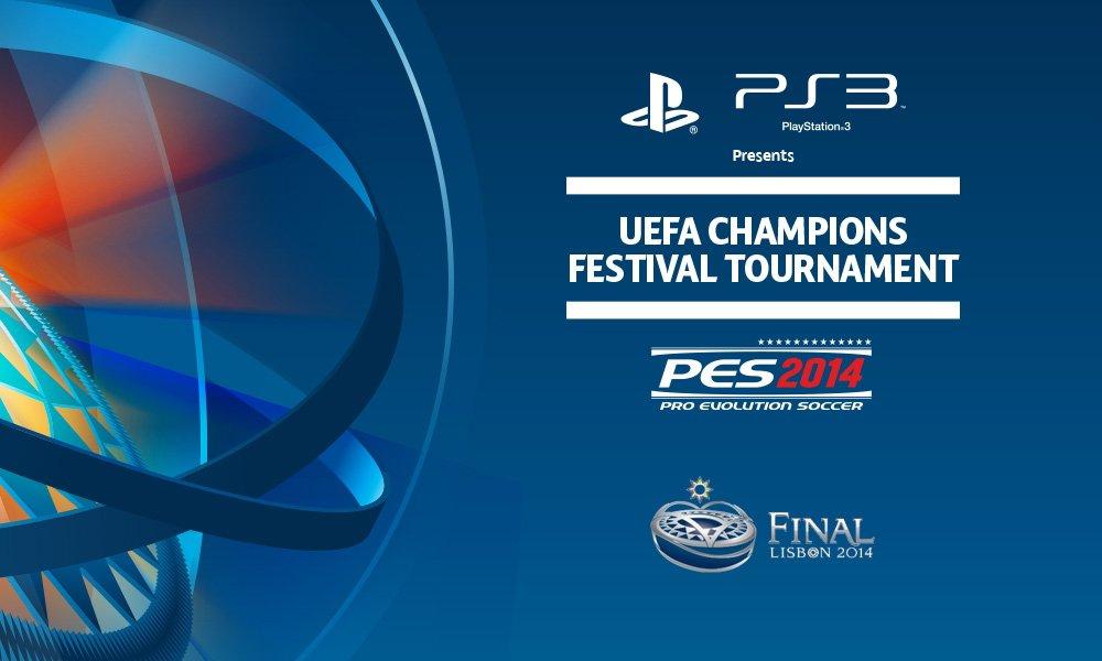 Large UEFA Champions Festival Tournament - banner
