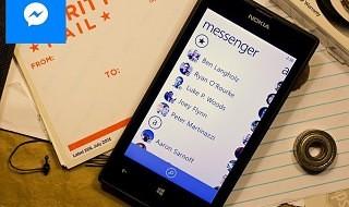 Facebook Messenger ya disponible para Windows Phone