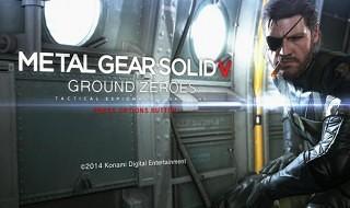 Publicada la release de Metal Gear Solid V: Ground Zeroes para Xbox 360