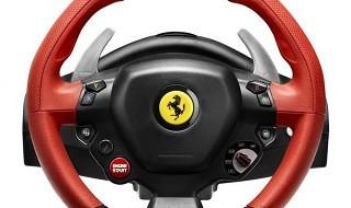 Ferrari 458 Spider Racing Wheel, el nuevo volante de Thrustmaster para Xbox One
