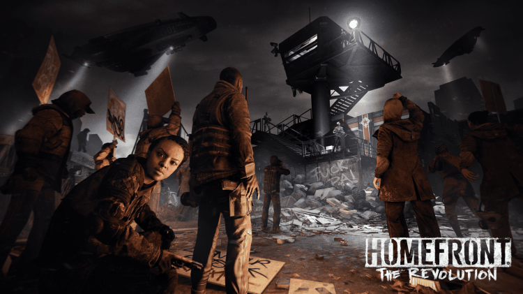 HOMEFRONT THE REVOLUTION ANNOUNCE 1
