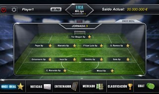Ya disponible Pro League Manager para iOS y Android