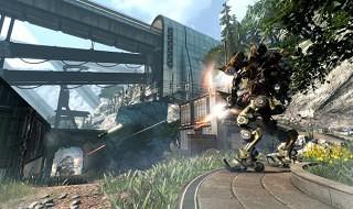 Export, otro de los mapas de Titanfall: Frontier's Edge