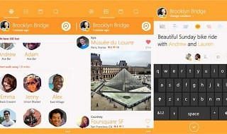 Swarm, la nueva aplicación de Foursquare, ya disponible para Windows Phone