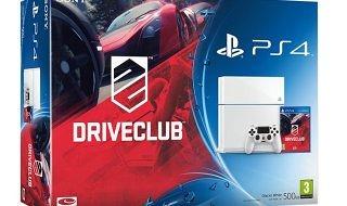 Habrá pack de PS4 blanca + Driveclub