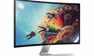 Samsung presenta su monitor LED curvo, el SD590C
