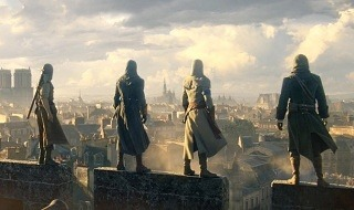 El mundo abierto de Assassin's Creed Unity