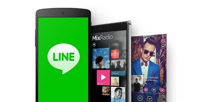 line mixradio