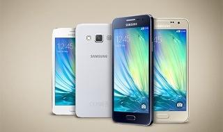 Los nuevos Samsung Galaxy A3 y A5 a la venta el 20 de enero