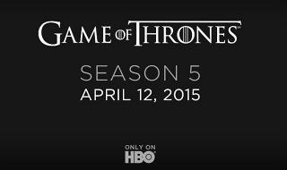 La quinta temporada de Juego de Tronos se estrena el 12 de abril