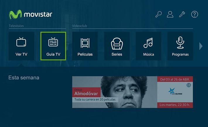 Interfaz Movistar TV