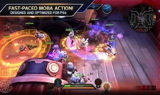 Trans-Galactic Tournament, un MOBA para PS4
