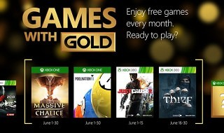 Estos son los Games with Gold de junio