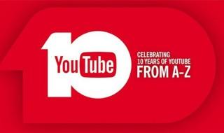 Youtube celebra su décimo aniversario con un vídeo
