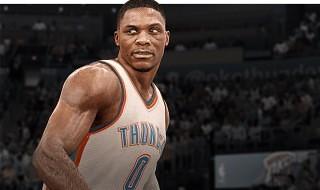 Russell Westbrook, portada de NBA Live 16