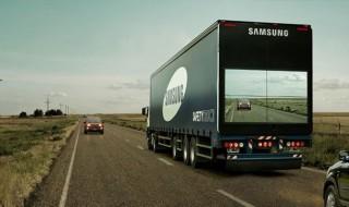 Los camiones transparentes de Samsung: marketing que salva vidas