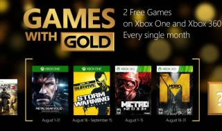 Metal Gear Solid V: Ground Zeroes y How to Survive, entre los Games with Gold de agosto