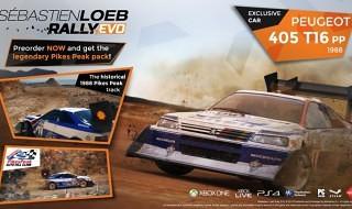 Los incentivos de reserva de Sebastien Loeb Rally Evo