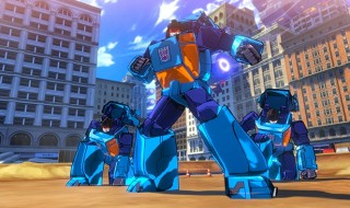 Gameplay de Transformers Devastation