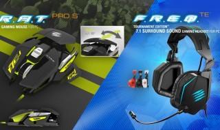 R.A.T. PROs y F.R.E.Q.TE 7.1, nuevo ratón y headset de Mad Catz