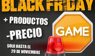 Estas son las ofertas de Game por el Black Friday