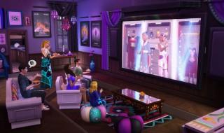 Noche de cine, nuevo pack de accesorios para Los Sims 4
