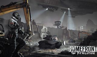 Apex, uno de los elementos de la distopía narrada en Homefront: The Revolution