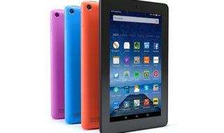 La Kindle Fire de 7″ ahora disponible con 16GB de memoria interna y más colores