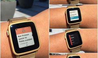La familia Pebble Time actualiza su firmware a la versión 3.11
