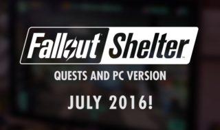 Fallout Shelter llegará a PC y recibirá misiones con la actualización 1.6