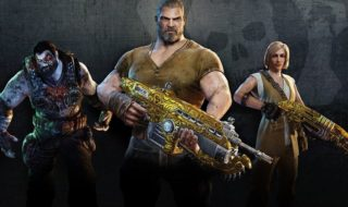 """Los DeeBees en acción en el mapa """"Impact"""" del multijugador de Gears of War 4"""