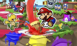 Las notas de Paper Mario: Color Splash en las reviews de la prensa