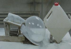 Fischli/Weiss, Der Lauf der Dinge, 1987, Video-Still