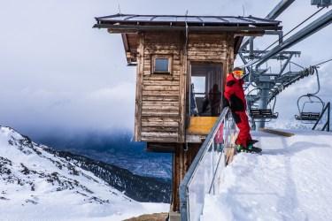 Arbeitsplatz auf 2304 Metern Höhe