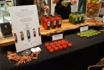 Belmonte Raw offered samples from their juice cleanses